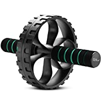 Fit2Live Ab Roller Wheel for Home Gym Workout - Abdominal Exercise Equipment for...