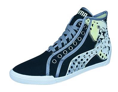 Puma Crete Mid Wings Frauen Sneaker - weiß Schwarz-Black-39 FWCZvqWjN