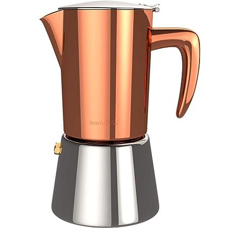 GAT 109104 Futura - Cafetera italiana de inducción (4 tazas ...