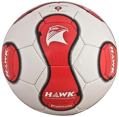 Hawk Football  White/Red  Football Match Balls