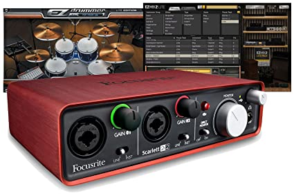 Amazon.com: Focusrite Scarlett 2I2 Ultimate Studio paquete ...
