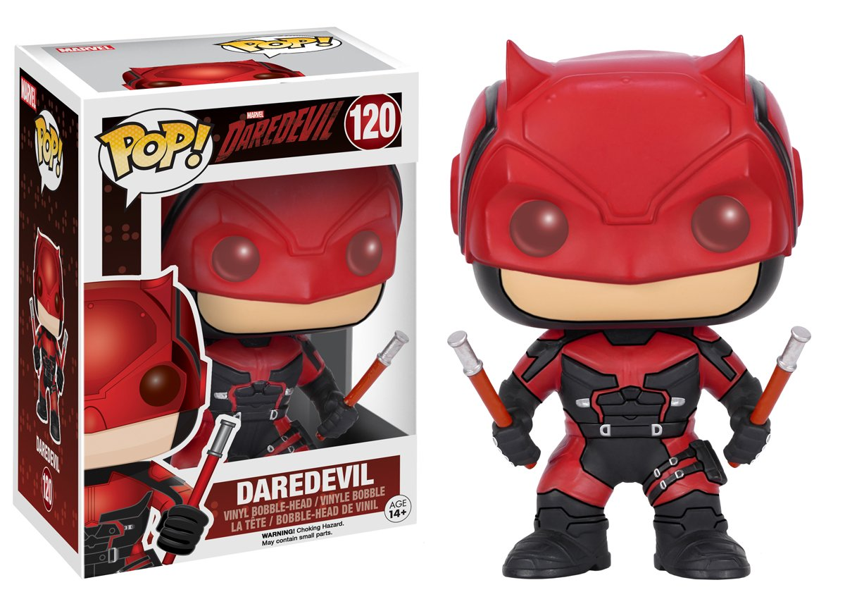 POP! Bobble - Daredevil: Daredevil Red Suit