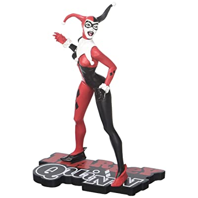 DC Collectibles Harley Quinn Red, White & Black: Harley Quinn by Jae Lee Statue: Toys & Games