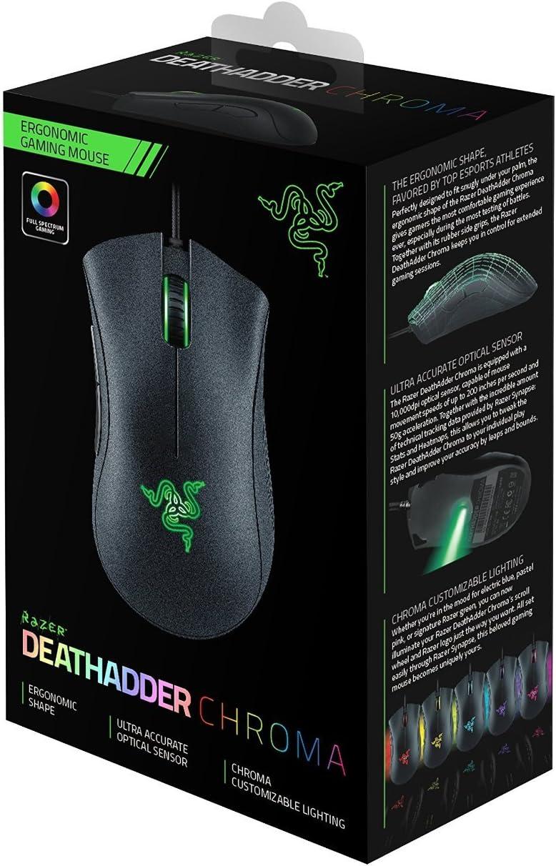 Razer Deathadder Chroma - Ratón: Amazon.es: Informática