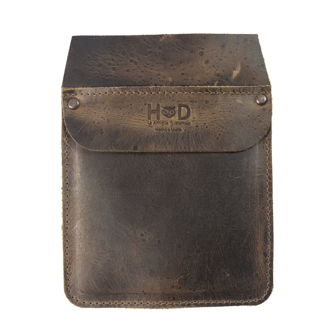 Durable Leather Work Pocket Organizer for Tools/Pens, Office & Work Essentials Handmade by Hide & Drink :: Bourbon Brown by Hide & Drink (Image #2)