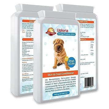 Suplementos para la piel del perro con prurito| Cápsulas de aceite ...