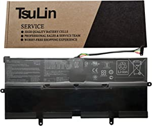 TsuLin C21N1613 Laptop Battery Replacement for Asus Chromebook Flip C302C Series Notebook C21PQC5 0B200-02280000 7.7V 39Wh 5065mAh