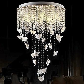 Modern K9 Kristall Deckenleuchte Esszimmer Wohnzimmer Räume Schlafzimmer  Studieren Lampe Schön Harz Engel Tanz Creative Elegante