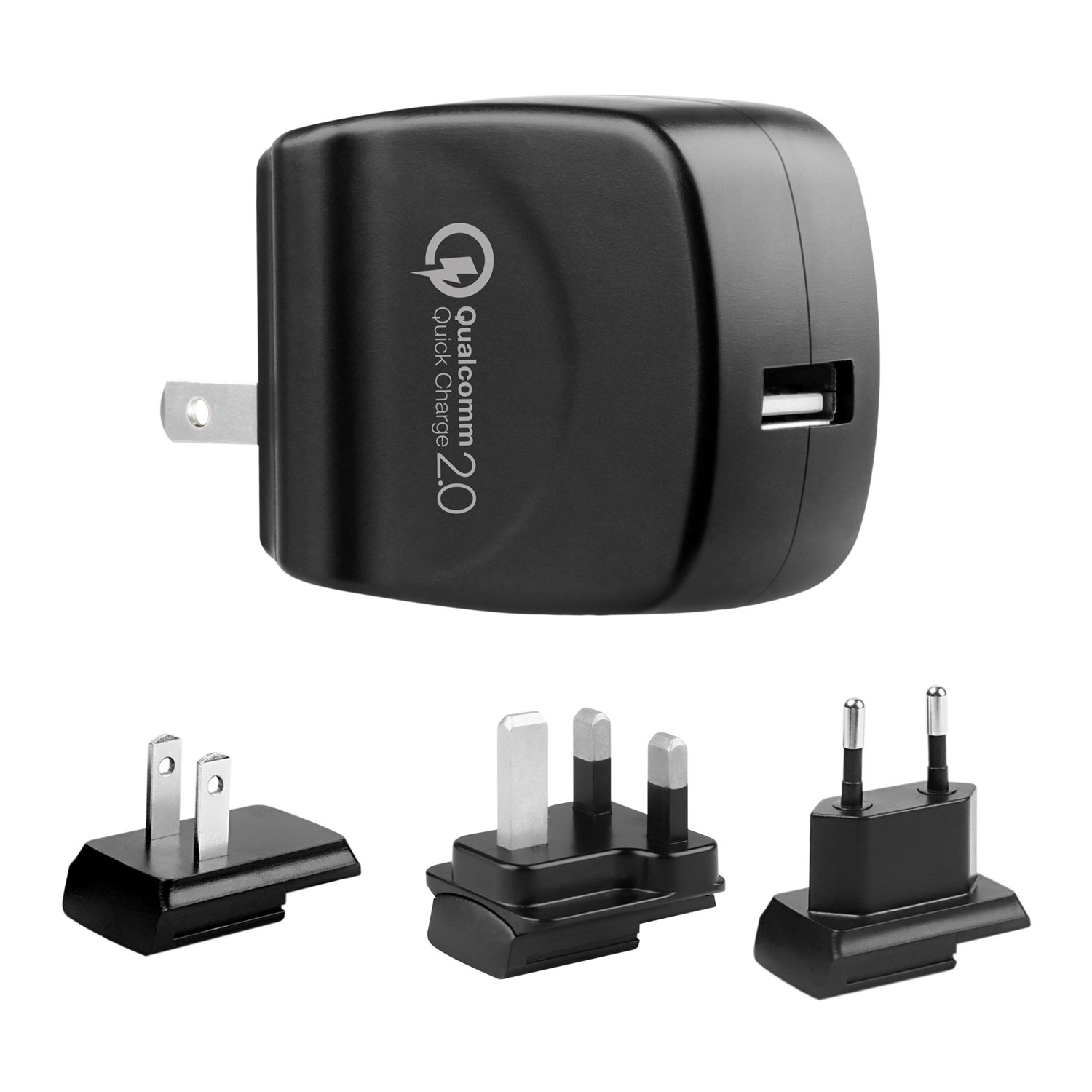 delicate Quick Charger 2.0 USB Wall Charger Fit for Samsung Galaxy S7,S5, Note 4, S6, Edge, blackberry