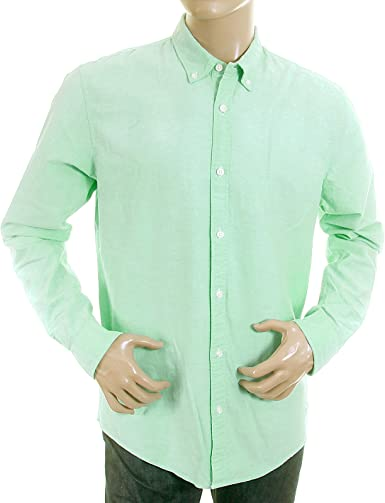 Camisa Scotch & Soda para hombre de color verde pastel, 1201 00 20006 Oxford SCOT0394 Verde verde medium: Amazon.es: Ropa y accesorios