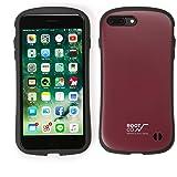 iFace ROOT CO. コラボ iPhone7plus ケース 耐衝撃/対衝撃 正規品 MILスペック (ワイン)Gravity Shock Resist Case. iPhone 7 plus アイフェイス アイフォン