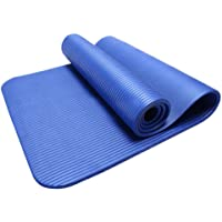 Waymine Yoga Mat Thick Durable Non-Slip Exercise Fitness Pad Mat Lose Weight