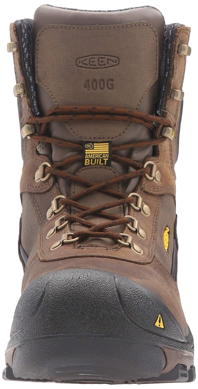Steel Toe 400G Insulated Waterproof Work Boot Keen Utility Mens Leavenworth KEEN Utility US Shoes 1015392-P