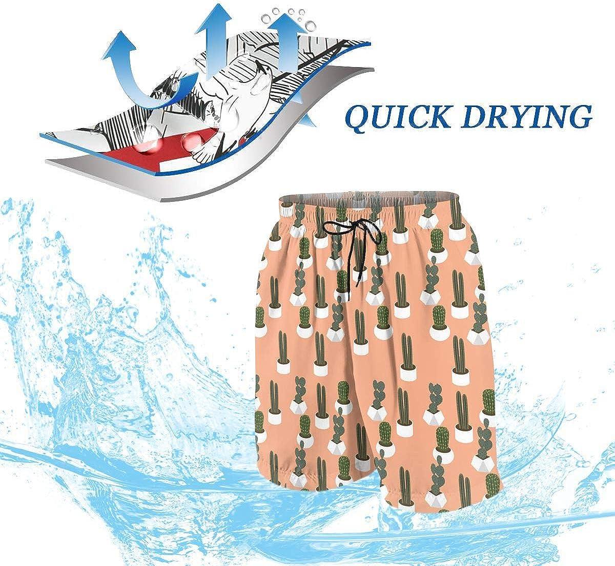 Hkany Stars Blue Teenager Boys Beachwear Beach Shorts Pants Board Shorts