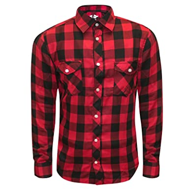 Next Mens Ex Flannel Check Long Sleeve Casual Smart Work Shirt