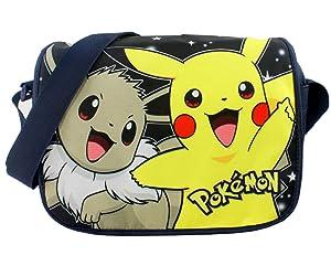 Anime Messenger Bag School Bag Shoulder Bags,Pokemon Pikachu