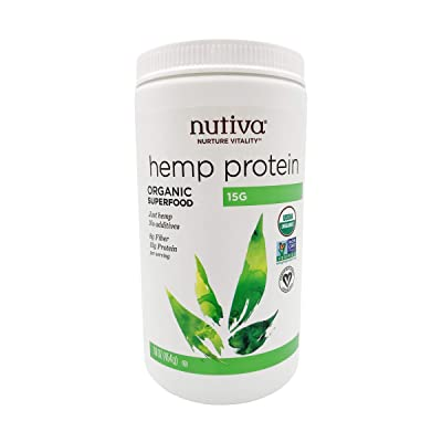 Nutiva Organic Cold-Pressed Hemp Seed Protein Powder