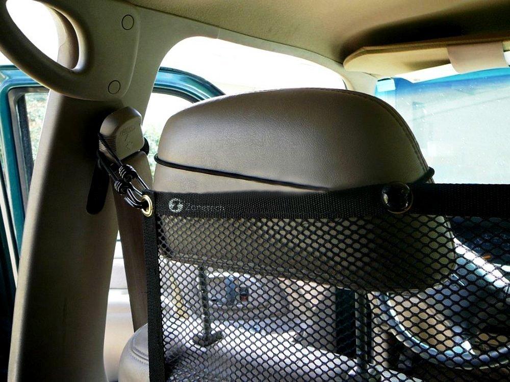 Zone Tech Vehicle Travel Pet Dog Car Back Seat Net Mesh