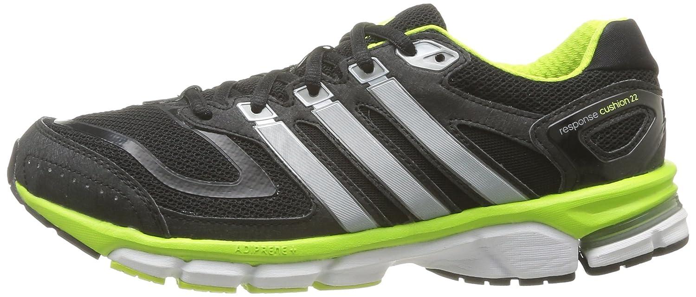 e9eb88d28c5105 adidas Performance Mens Response Cushion 22-3 Running Shoes D67063 Night  Shade Tech Grey Metal Solar Slime 6 UK
