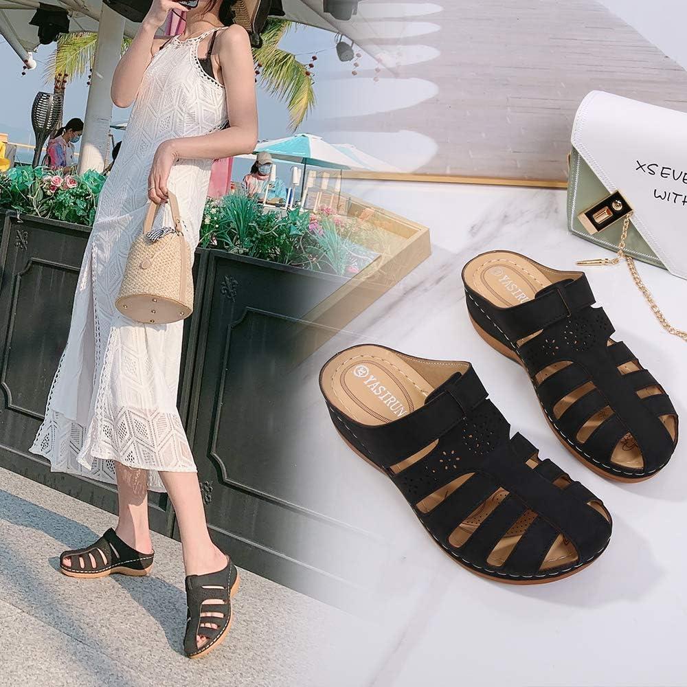 Childrens Kids Girls Dress Up Flower Mules Clogs Beach Sandals Summer Shoes Size