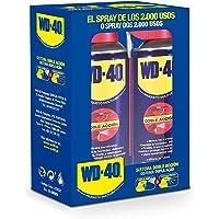 WD-40 Producto Multi-Uso Doble Acción- Spray 400ml-Pack x2