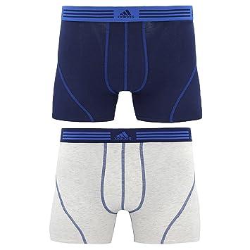 76d799138 Adidas Men s Athletic Stretch Trunk Underwear (2 Pack)