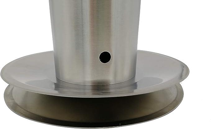 Räucher-König RK30 - Generador de humo frío (acero inoxidable, tamaño L – Generador de humo frío ahumador barbacoa: Amazon.es: Hogar