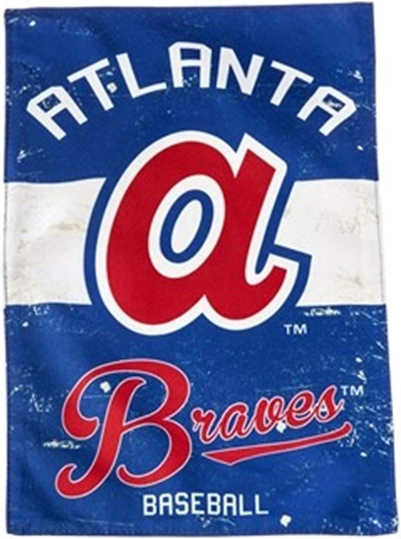Rico Industries Atlanta Braves Banner Flag