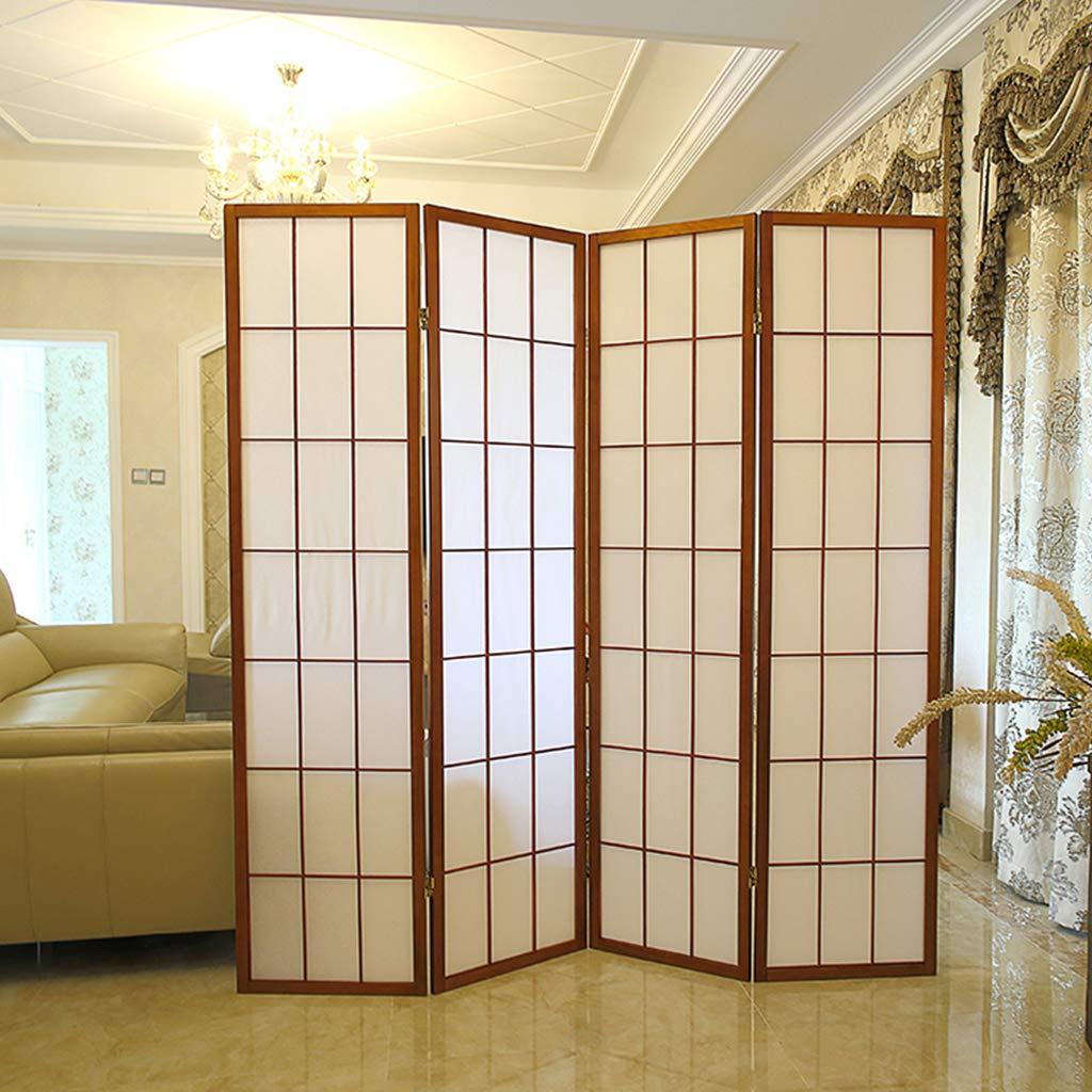 Even Moderne Einfachheit Klapp Sichtschutz mit 4 Platten Raumteiler Separator für die Dekoration Schlafzimmer, Wohnzimmer, Büro,Partition Screens