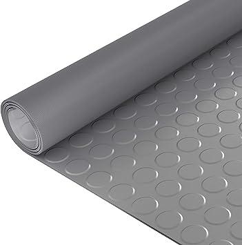 ANRO Gummimatte Schutzmatte Noppenmatte Bodenmatte Noppen Geruchsarm TPE Premium Gummil/äufer 100cm Breit 3mm stark Grau 200 x 100cm
