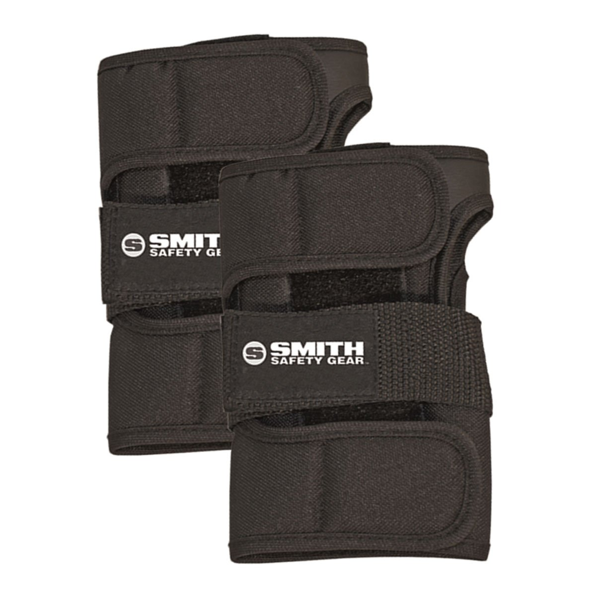 Smith Safety Gear Scabs Wrist Guards, Black, Small