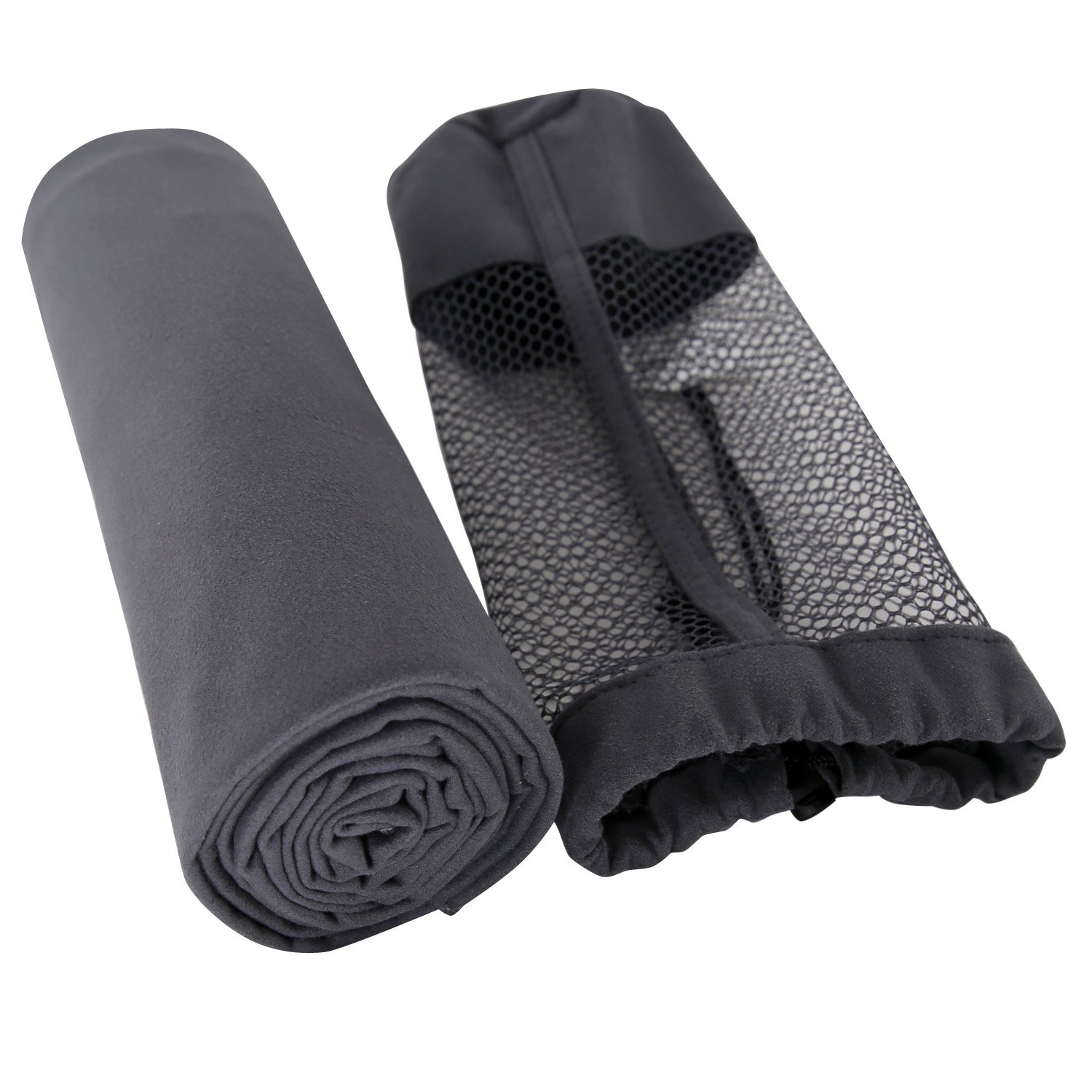 Deconovo Multi-Purpose Microfiber Towel Ultra Compact Super Absorbent and Fast Drying Sports Towel Travel Towel Beach Towel Perfect for Camping, Gym, Swimming, Backpacking.