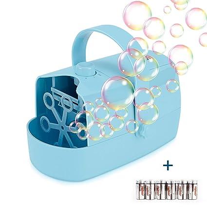 Amazon.com: Supkiir Máquina de burbujas automática, soplador ...