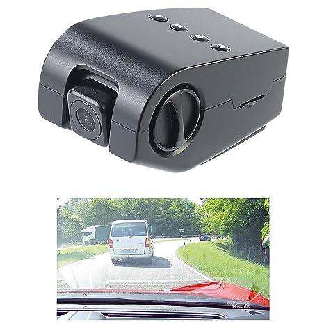 NavGear - Discreta cámara de coche:cámara de salpicadero oculta, Full HD para el