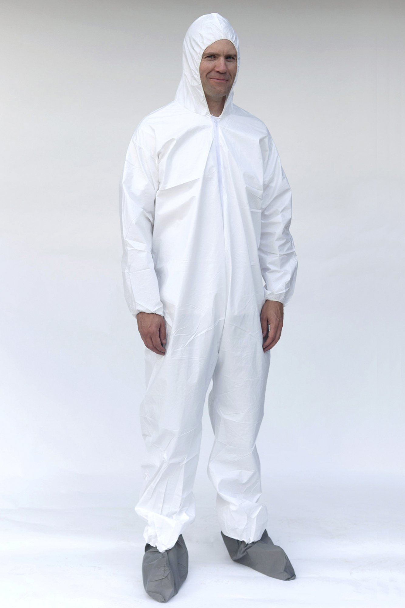 ERB Safety 14813 Pc261 Coveralls, Medium, White