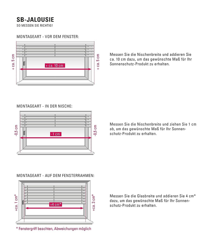 GARDINIA GARDINIA GARDINIA Alu-Jalousie, Sicht-, Licht- und Blendschutz, Wand- und Deckenmontage, Alle Montage-Teile inklusive, Aluminium-Jalousie, Silber, 200 x 175 cm (BxH) B00DF1EMGO Jalousien b3719d