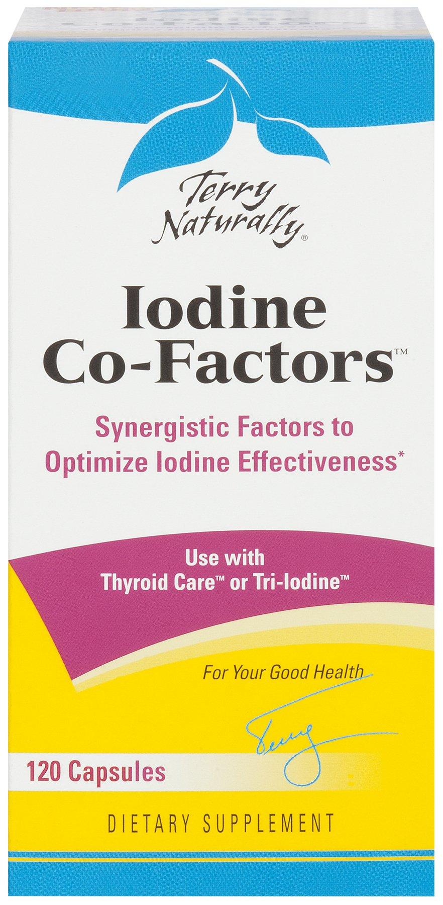 Terry Naturally Iodine Co-Factors - 120 Capsules