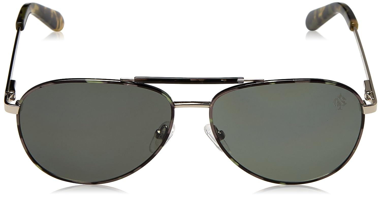 STARLITE Gafas de Sol Ace Alejandro Sanz, Verde, Montures de Lunettes Mixte Adulte, (Verde), 58