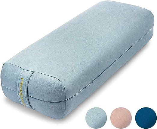 Yoga bolster pillow