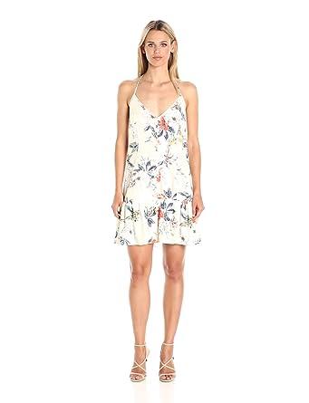 MINKPINK Womenu0027s Garden Party Floral Print Halter Dress