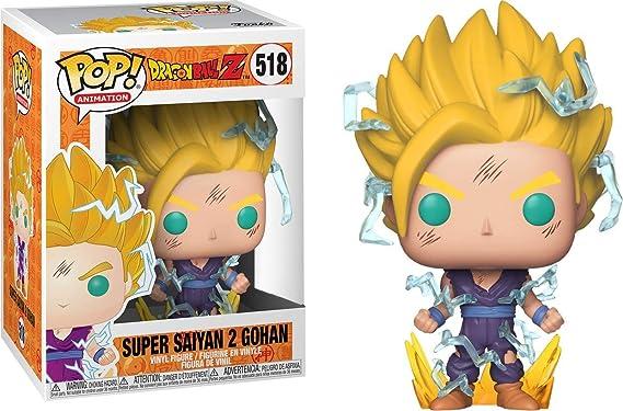 ec32f1acb77 Funko Pop! Dragon Ball Z - Figura de Vinilo Super Saiyan 2 Gohan # 518:  Amazon.es: Juguetes y juegos