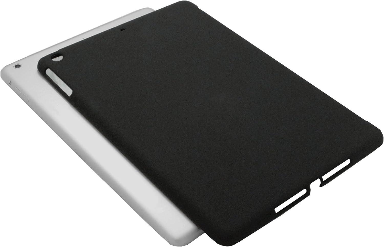 KHOMO Back Case for Apple iPad Mini 1, 2 (Retina) & 3 Companion Hard Rubberized Polycarbonate Compatible with Apple Smart Cover