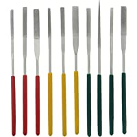 SE Tapered Diamond Needle File Set (10 PC.) - 742DF
