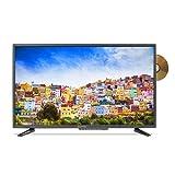 """Sceptre E328BD-SR 32"""" 720p TV DVD Combination (2016), True black"""