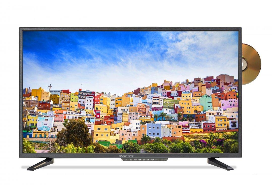 Sceptre E328BD-SR 32'' 720p TV DVD Combination (2016), True black by Sceptre