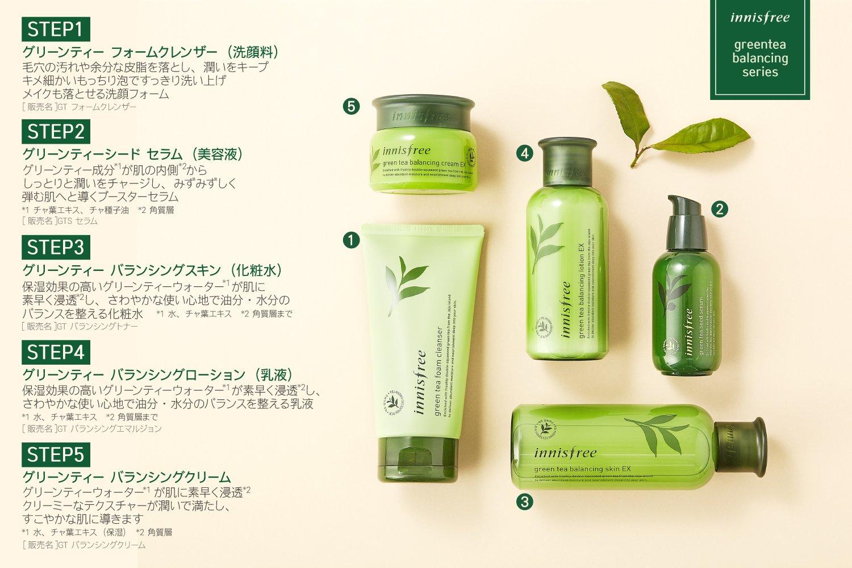 Innisfree Green Tea Seed Serum 80ml Best Korean Cosmetics The Beauty