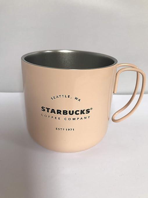 Starbucks Est 1971 - Taza de café (acero inoxidable, 355 ml ...