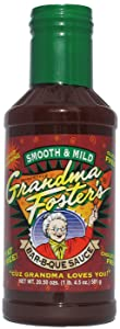 Grandma Foster's Bar-B-Que Sauce SMOOTH & MILD Voted Best Sauce on the Planet at the American Royal Competition