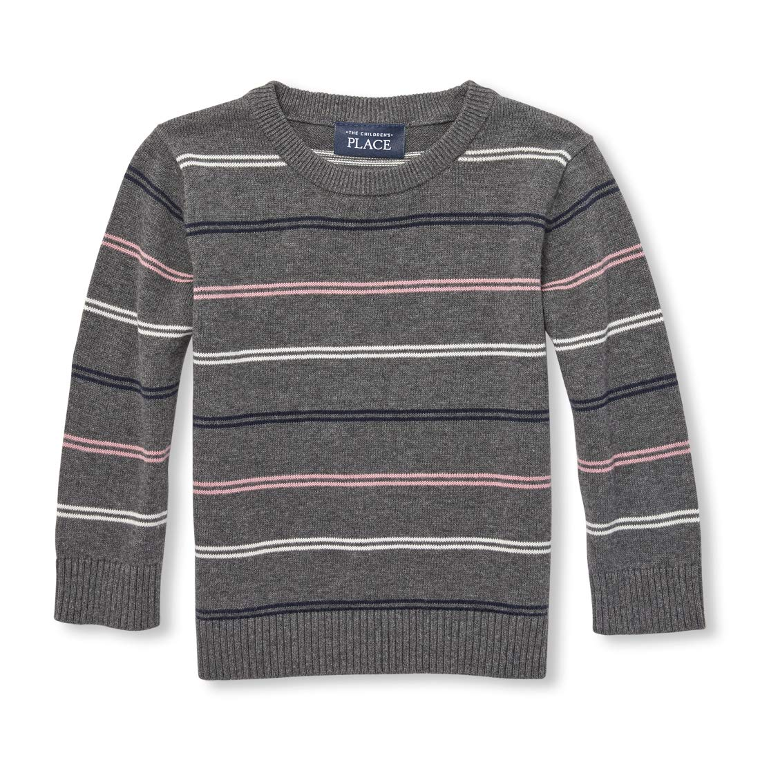 The Children's Place Baby Boys Striped Crew Neck Sweater The Children' s Place 2102851