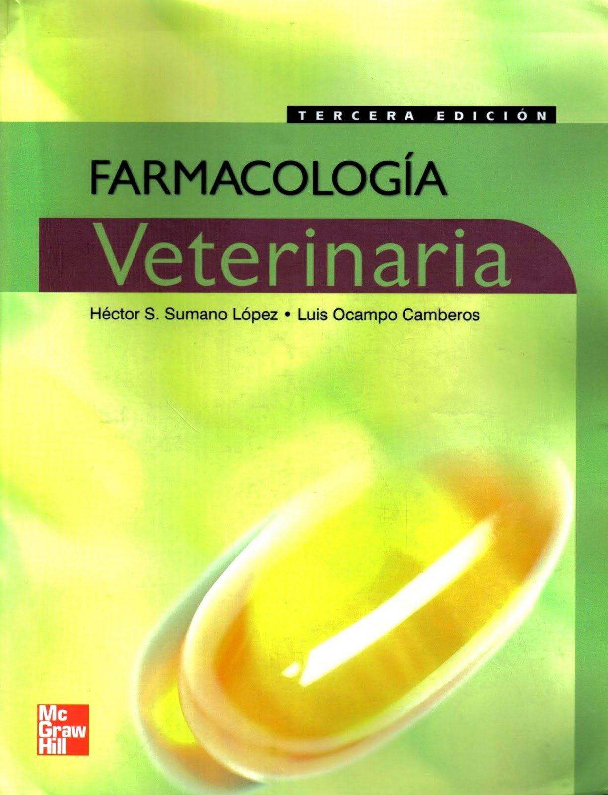 Farmacologia Veterinaria El Precio Es En Dolares Sumano Hector Books